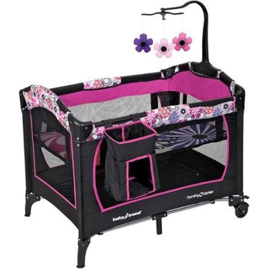 Vibrant And Fun Baby Trend Nursery Center, Floral Garden