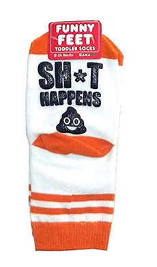 Gamago Toddler Socks, Poop Happens