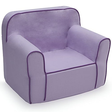 Delta Children Foam Snuggle Chair, Purple