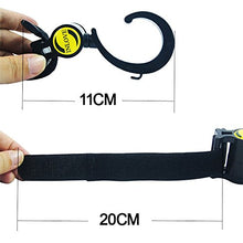 Load image into Gallery viewer, Hilinker Universal Stroller Hooks Multi Purpose Stroller Clips, Perfect Stroller Accessories Clips On Any Baby Stroller Travel Systems, Hanger For Secure Purses, Diaper Bags, Shopping Bags