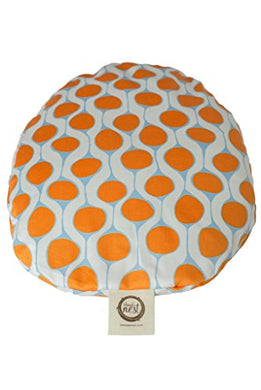 The Nest Egg - Organic Travel Sized Pillow With Slipcover (Clementine)
