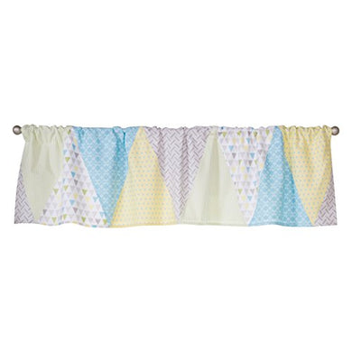 Trend Lab Triangles Window Valance