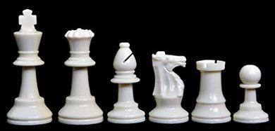 Analysis Plastic Chess Set - Pieces Only - 2.5 King - By The House Of Staunton