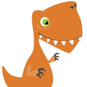 Giant Dinosaur Decals, T-Rex, Neutral Color Wall Stickers For Kids