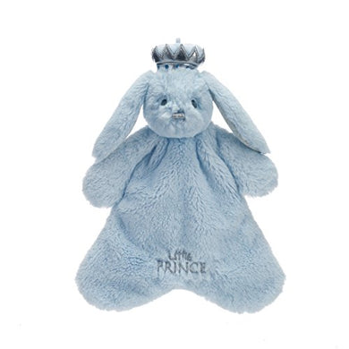 Little Prince Bosley Bunny Baby Blue Children'S Plush Toddler Blanket