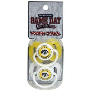 Iowa Hawkeyes Ncaa Baby Paciifers -