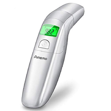 Ear Thermometer - Fda Approved Medical Thermometer With Forehead Function, Fever Indicator, 1-Second Quick Accurate Reading, Digital Infrared Thermometer For Baby, Infant, Kids, Child And Adult