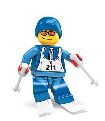 Lego Collectable Minifigure Series 2 - Downhill Skier - Sealed