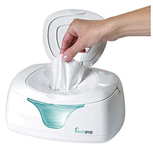 Load image into Gallery viewer, Hiccapop Wipe Warmer And Baby Wet Wipes Dispenser | Holder | Case With Changing Light
