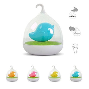 Holiday Gift Blue Led Night Light Childrens Toddler And Baby Battery Operated! Soft Light Comforting To Help Your Baby Fall Asleep Faster
