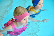 Load image into Gallery viewer, Konfidence Aquaband Swimming Ear Band - Blue (Child)