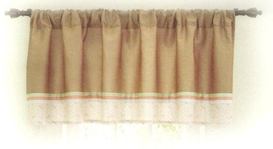 Sleepy Time Zoo Collection - Window Valance 54 X 16 Inches