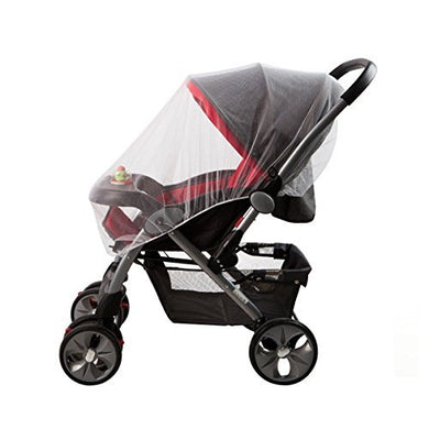 Baby Mosquito Net For Strollers, Carriers, Car Seats, Cradles. Fits Most Cribs, Made Of White, Portable &Amp; Durable Baby Insect Netting