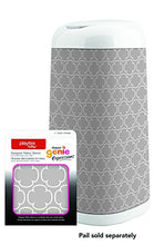 Load image into Gallery viewer, Diaper Genie Playtex Expressions Fabric Sleeve, Grey Clovers