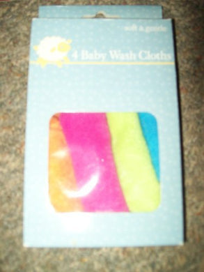 Mother'S Care 4 Gentle Baby Wash Cloths