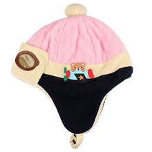 Load image into Gallery viewer, Feitong Cute New Kids Girls Boys Hats Winter Warm Cap Hat (Pink)