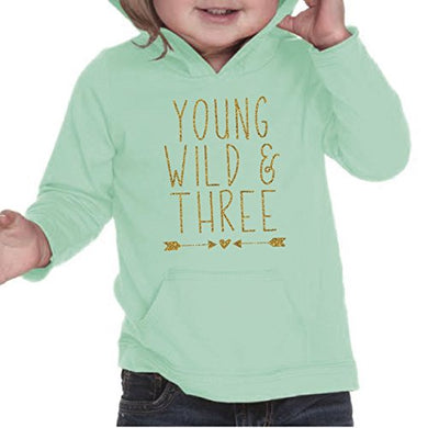 Girl Third Birthday Shirt, Three Year Old Birthday Girl Outfit 3Rd Birthday (Green,4T)