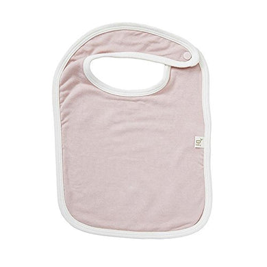 Boody Body Baby Ecowear Bib  Soft, Washable Fabric Protection Made From Natural Organic Bamboo  Absorbent And Neutral For Sensitive Skin  Rose Pink
