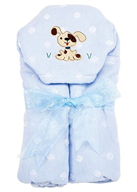 Am Pm Kids! Hooded Towel, Puppy, 0-2T