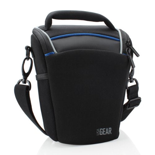 Usa Gear Baby Monitor Carrying Travel Bag With Accessory Pockets & Adjustable Shoulder Strap - Works With Infant Optics , Summer Infant , Vtech Safe & Sound & More Monitor Accessories