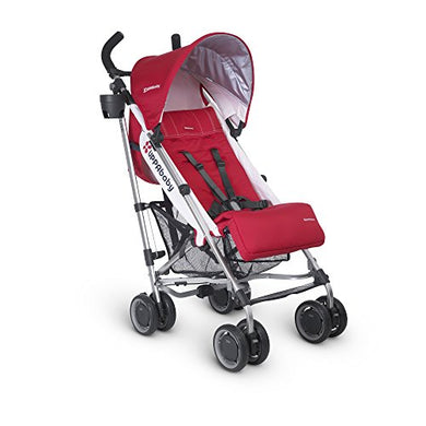 Uppababy 2015 G-Luxe Stroller With Rain Shield And Travel Bag (Denny Red)
