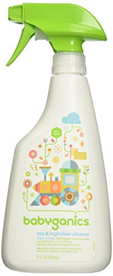Babyganics The Cleaner Upper Toy &Amp; Highchair Cleaner - Fragrance Free - 17 Oz