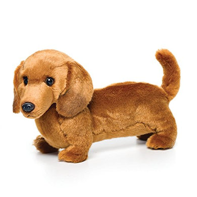 Nat And Jules Standing Large Dachshund Dog Children'S Plush Stuffed Animal Toy