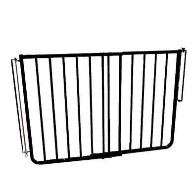 Cardinal Gates Outdoor Safety Gate, Black