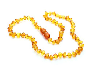 Silveramber Genuine Baltic Amber Teething Necklace - Multi Colour - Ne0028