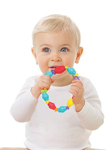 Playgro 0186338 Jungle Friends Teething Ring For Baby Infant Toddler
