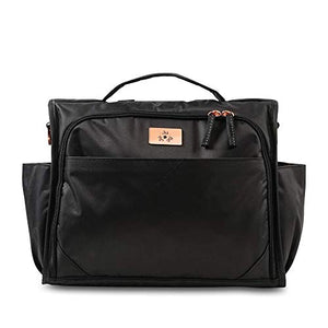 Jujube Limited Edition Classical Convertible Diaper Bag - Black Rose