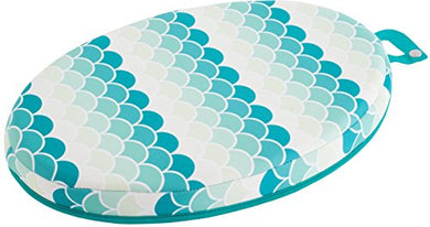 Creative Baby Koi Comfort Bath Kneeler, Oval-Shape, Blue