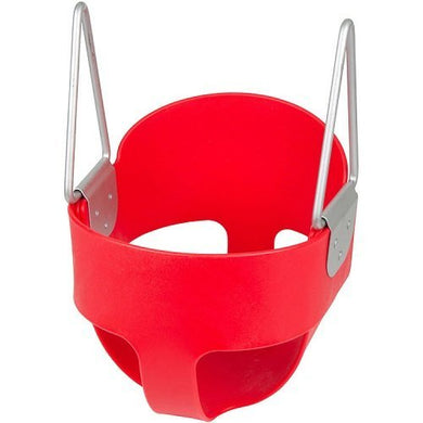 High Back Full Bucket Toddler Infant Swing Seat - Seat Only (Red) With Sss Logo Sticker