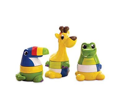 Kiddopotamus Stack The Pack Interchangeable Stacking Toy