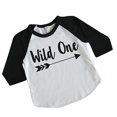 Wild One Boy First Birthday Shirt, 1St Birthday Boy Outfit (6-12 Months)