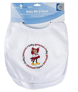 Baby Fanatic Team Color Bibs, University Of South Carolina, 2-Count By Baby Fanatic