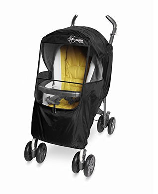 Manito Elegance Plus Stroller Weather Shield/Rain Cover, Black
