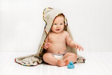 Antimicrobial Hooded Bath Towel For Babies