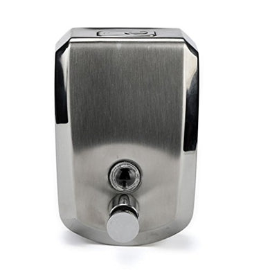 Wall-Mounted Stainless Steel Soap Box,Tuscom 500/800/1000Ml Stainless Steel Liquid Soap Dispenser Wall (500Ml)