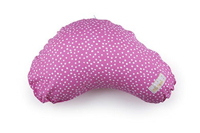 Littlebeamus Nursing Pillow  Best Breastfeeding Support Pillow For Baby &Amp; Mom  100% Cotton Cushion With Machine Washable Cover - Floating Dots