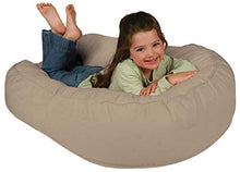 Load image into Gallery viewer, Leachco Pillay Plush Sling-Style Lounger, Latte