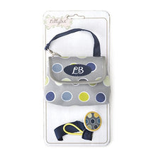 Load image into Gallery viewer, Demdaco Lillybit Pacifier Pouch And Strap Set, Polka Dot