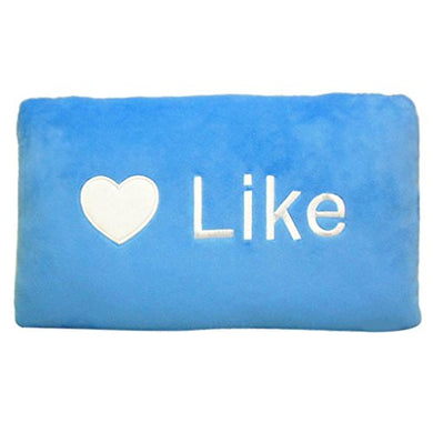 Hatop Throw Follow Chat Pillow Cushion Plush Toy (Like)