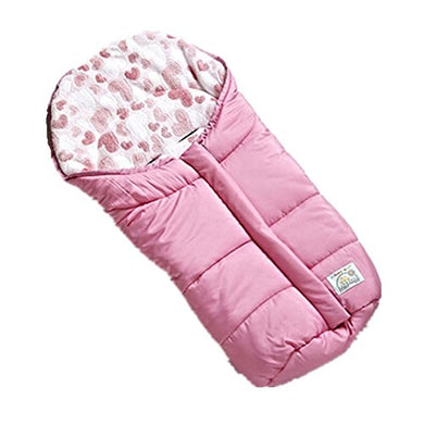Fairy Baby Universal Baby Stroller Bunting Bag Pushchair Footmuff Sack For 0-6 Months,Pink Love