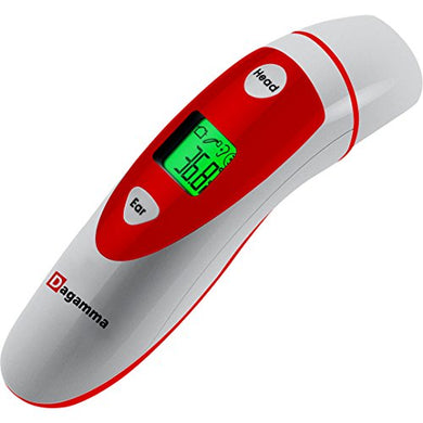 Digital Thermometer Home &Amp; Medical Use For Adult &Amp; Baby - Infrared Thermometer With Dual-Mode - Dagamma Forehead And Ear Thermometer