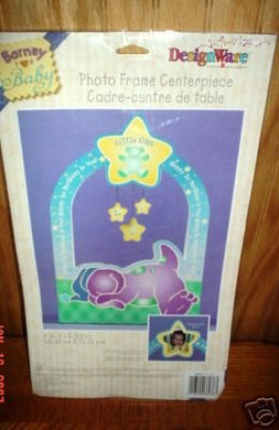 Barney For Baby Photo Frame Centerpiece