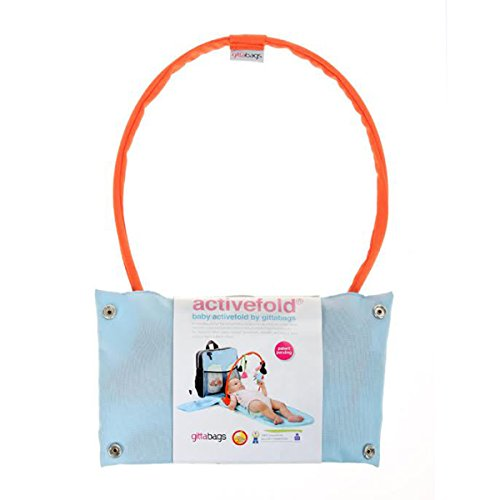 Gitta Activefold Baby Activity Playment Gym Soft Reinbow Play Toy, Orange