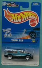 Load image into Gallery viewer, Hot Wheels 1997 Green & Black Lumina Van 1:64 Scale Collectible Die Cast Collector Car #702