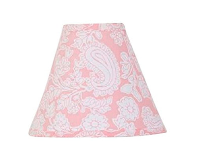 Cotton Tale Designs Standard Lamp Shade, Sweet And Simple Pink