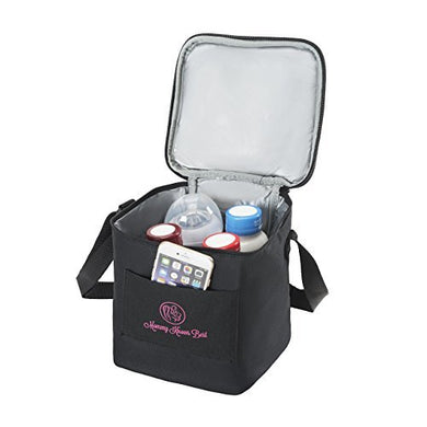 Breastmilk Cooler Bag - Extra Tall Breast Milk Baby Bottle Cooler Bag For Insulated Storage - Air Tight Design To Lock In The Cold &Amp; Preserve Important Nutrients For Your Baby - Fits Up To Most 8 Oz B